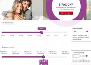 aanvraag ComfortPlus lening Beobank